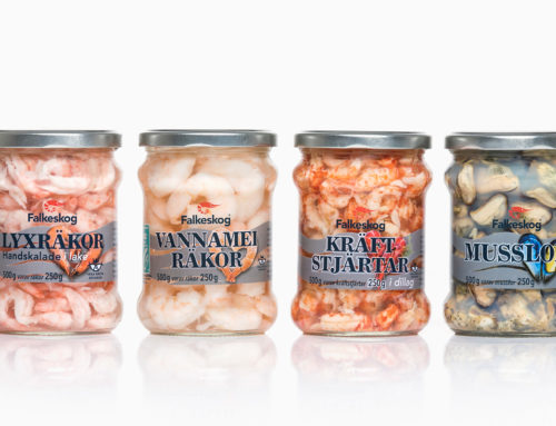 Passion för mat – nytt designkoncept