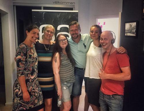 Radioreklam om handeln i Sölvesborg